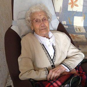 centenaire Mme Riado