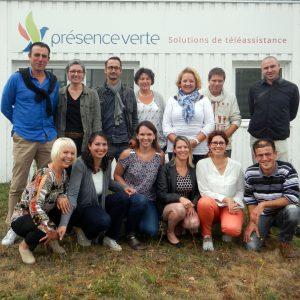 équipe de Présence Verte Touraine